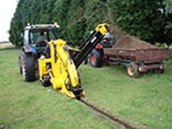 AFT20 whizz wheel trencher