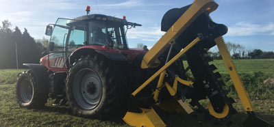 Agricultural Drainage Trenchers for well drained land